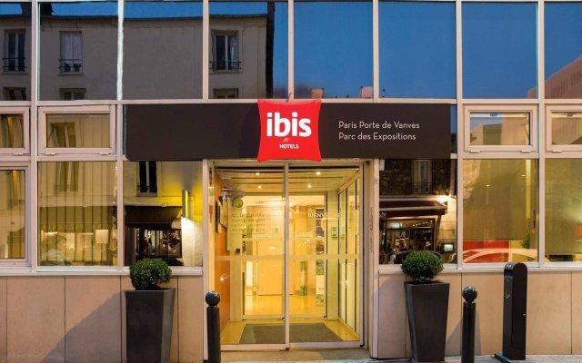 Отель Ibis Paris Vanves Parc des Expositions вид на фасад