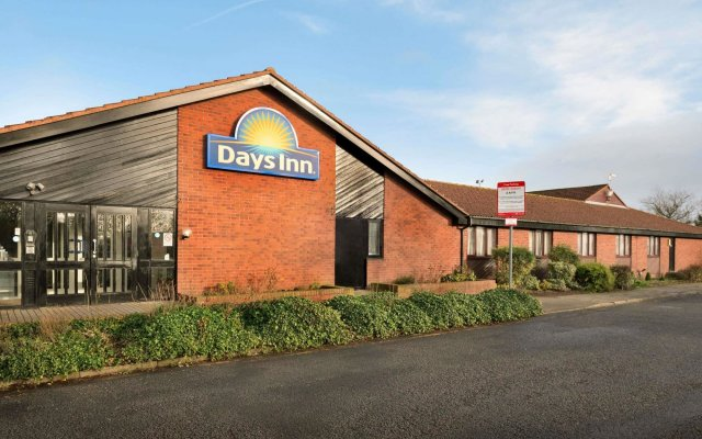 Отель Days Inn Gretna Green вид на фасад