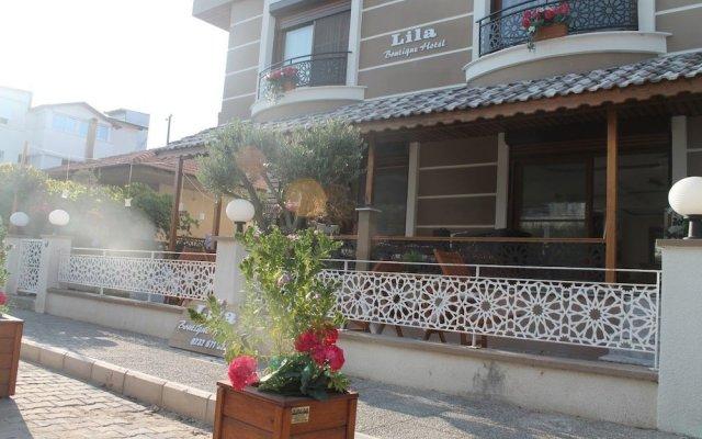 Lila Boutique Hotel Турция, Дикили - отзывы, цены и фото номеров - забронировать отель Lila Boutique Hotel онлайн вид на фасад