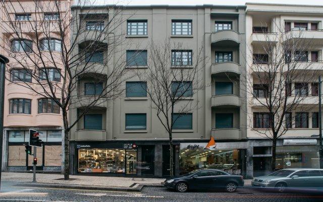 Апартаменты D'Autor Apartments вид на фасад