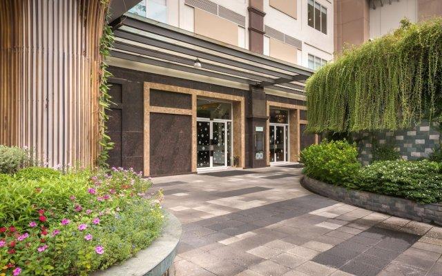 Отель M Suites by S Home Хошимин вид на фасад