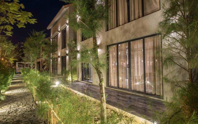 Отель Sol An Bang Beach Resort & Spa вид на фасад