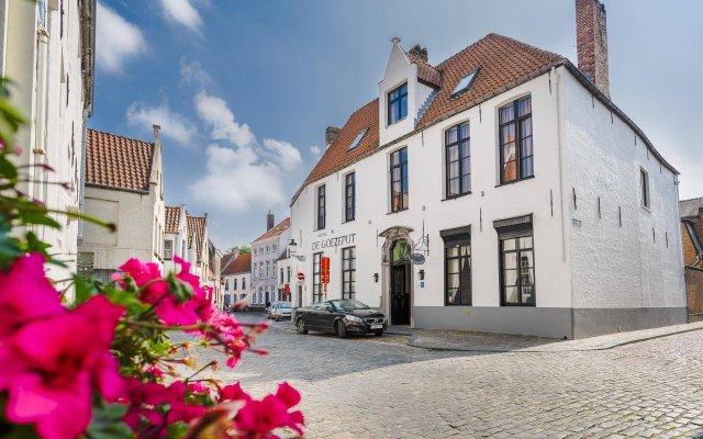 Отель Goezeput Бельгия, Брюгге - отзывы, цены и фото номеров - забронировать отель Goezeput онлайн вид на фасад