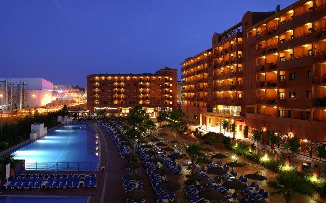 Hotel Myramar Fuengirola вид на фасад