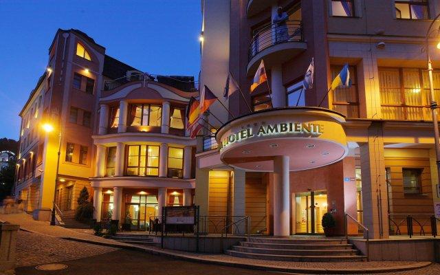 Wellness & Spa Hotel Ambiente вид на фасад