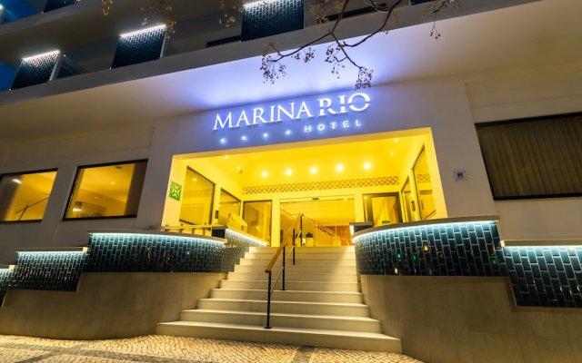 Отель Marina Rio вид на фасад