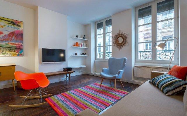 Отель Like Home Corneille Франция, Лион - отзывы, цены и фото номеров - забронировать отель Like Home Corneille онлайн комната для гостей