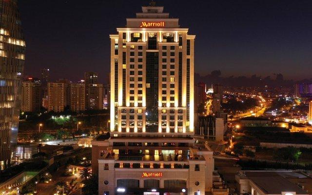 Istanbul Marriott Hotel Asia Турция, Стамбул - отзывы, цены и фото номеров - забронировать отель Istanbul Marriott Hotel Asia онлайн вид на фасад