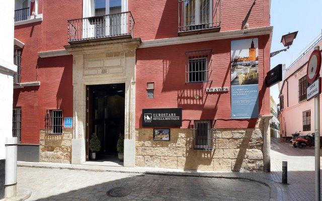 Отель Eurostars Sevilla Boutique вид на фасад
