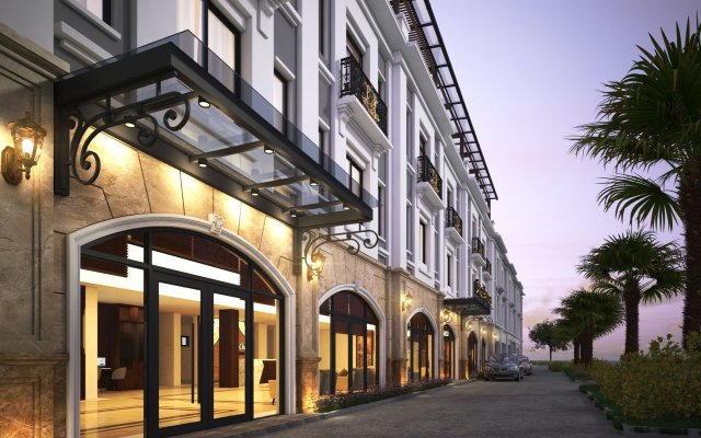 Lang Chai Ha Long Bay Hotel вид на фасад