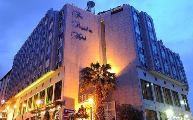 The President Hotel Турция, Стамбул - 12 отзывов об отеле, цены и фото номеров - забронировать отель The President Hotel онлайн вид на фасад