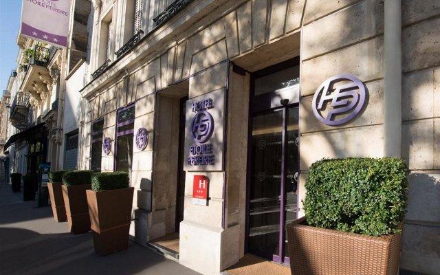 Hotel Etoile Pereire вид на фасад