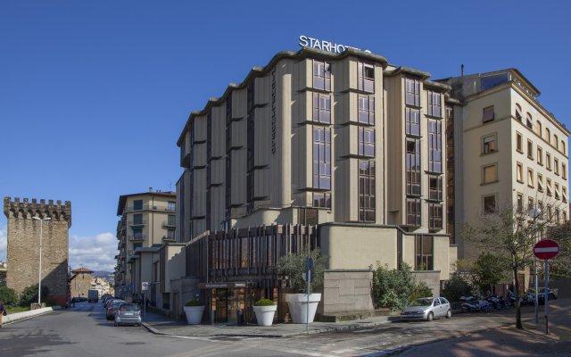 Отель Starhotels Michelangelo Италия, Флоренция - отзывы, цены и фото номеров - забронировать отель Starhotels Michelangelo онлайн вид на фасад