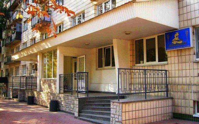 Гостиница Казацкий на Антонова вид на фасад