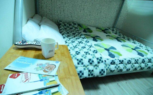 Отель Insadong Hostel Южная Корея, Сеул - 1 отзыв об отеле, цены и фото номеров - забронировать отель Insadong Hostel онлайн комната для гостей