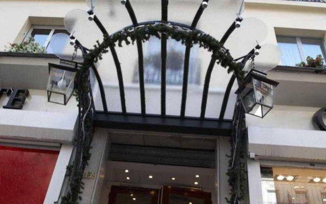 L'Hotel Royal Saint Germain Париж вид на фасад