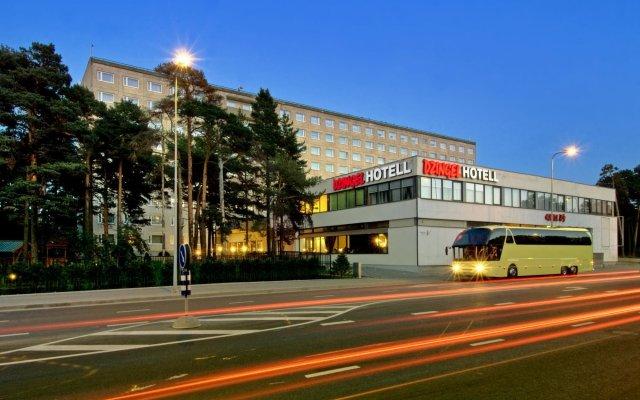 Отель Джингель вид на фасад