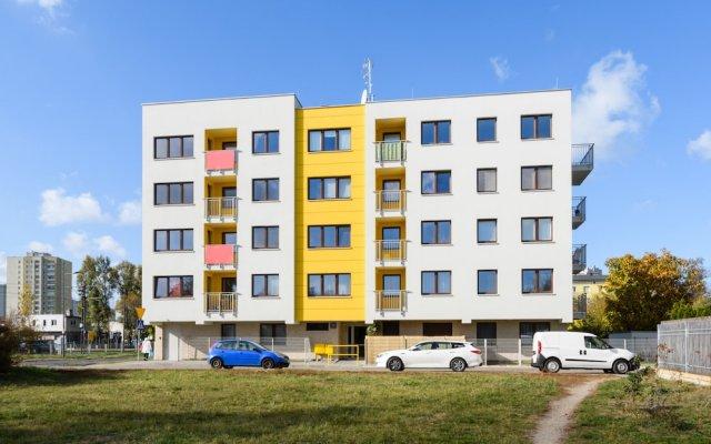 Апартаменты Roztocka Loft Apartment вид на фасад