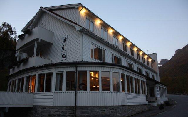 Отель Hotell Utsikten Geiranger - by Classic Norway вид на фасад
