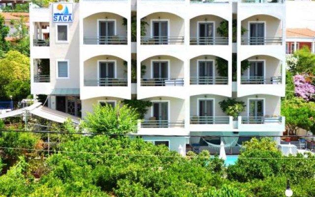 Отель Saga Hotel Греция, Порос - отзывы, цены и фото номеров - забронировать отель Saga Hotel онлайн вид на фасад