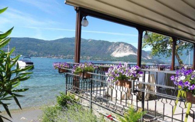 Hotel Beata Giovannina Вербания вид на фасад