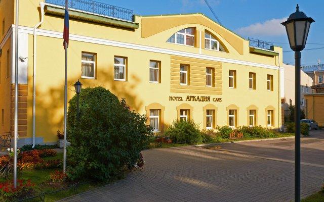 Гостиница Аркадия Санкт-Петербург вид на фасад