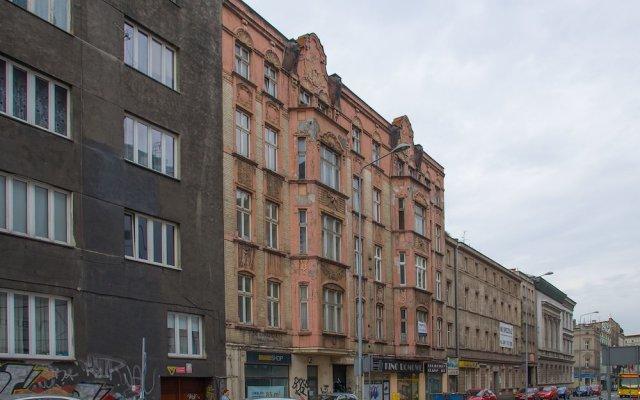 Отель Smart Aps Apartamenty Slowackiego 39 вид на фасад
