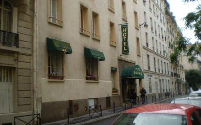 Отель EXELMANS Париж вид на фасад