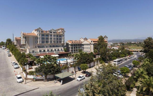 Отель Sultan of Side - All Inclusive Сиде вид на фасад
