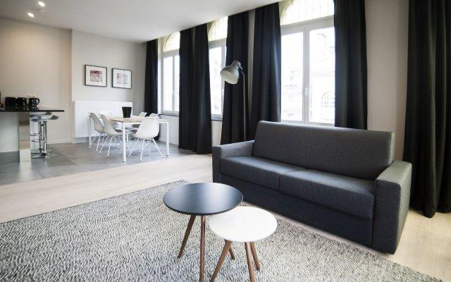Отель Smartflats Design - Louise Брюссель комната для гостей