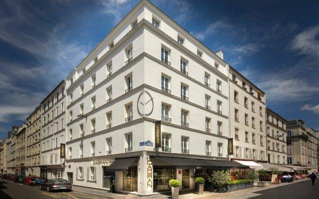 Отель Du Cadran Франция, Париж - 4 отзыва об отеле, цены и фото номеров - забронировать отель Du Cadran онлайн вид на фасад