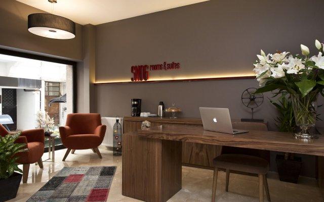 Отель Snog Rooms & Suites Стамбул комната для гостей