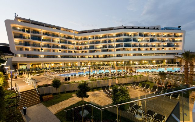 Numa Beach & Spa Hotel Турция, Аланья - отзывы, цены и фото номеров - забронировать отель Numa Beach & Spa Hotel - Adults Only - All Inclusive онлайн вид на фасад