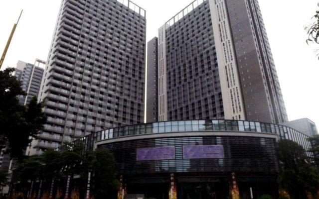 U Home Hotel - Foshan Junyu вид на фасад