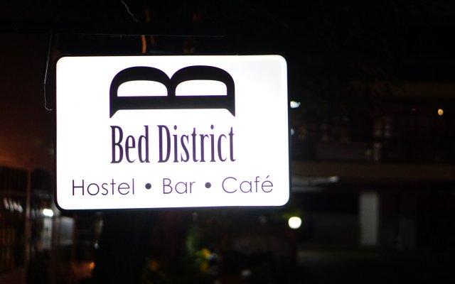 Отель Bed District Бангкок вид на фасад