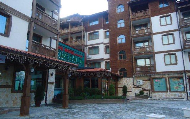 Отель Emerald Spa Hotel Болгария, Банско - отзывы, цены и фото номеров - забронировать отель Emerald Spa Hotel онлайн вид на фасад