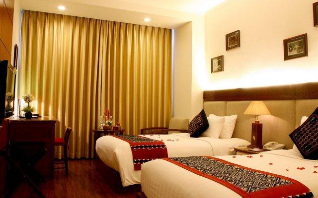 Hanoi Elegance Happy Hotel комната для гостей