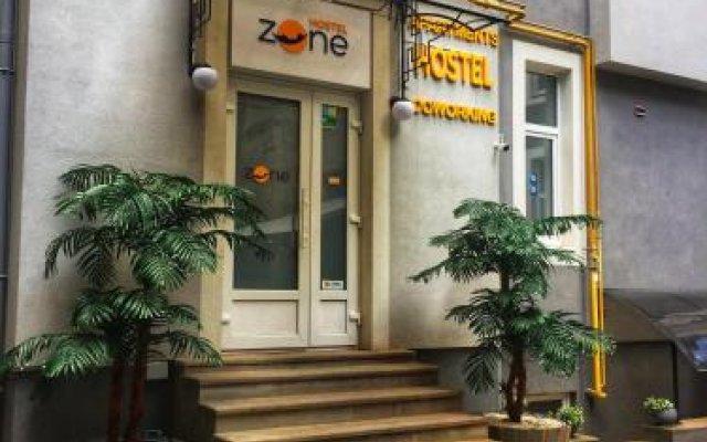 Z-One Hostel Львов вид на фасад