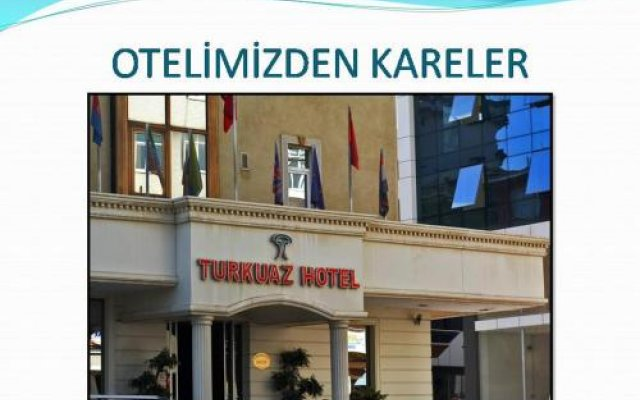 Turkuaz Hotel Гебзе вид на фасад