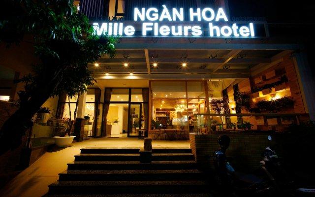 Отель Mille Fleurs Далат вид на фасад