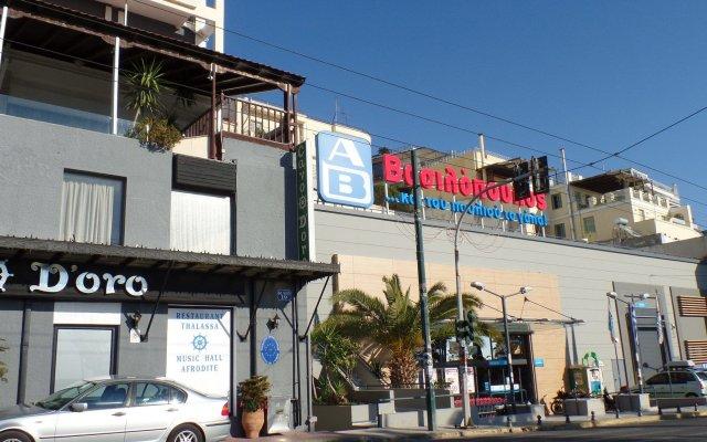Отель Cavo D'Oro Hotel Греция, Пирей - отзывы, цены и фото номеров - забронировать отель Cavo D'Oro Hotel онлайн вид на фасад