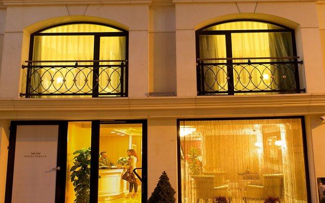 Hotel Perula вид на фасад