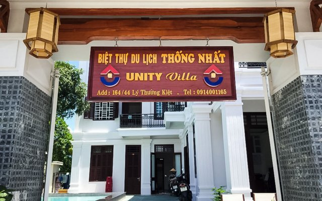 Отель Unity Villa Hoi An Хойан вид на фасад