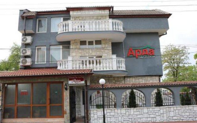 Hotel Arda Карджали вид на фасад