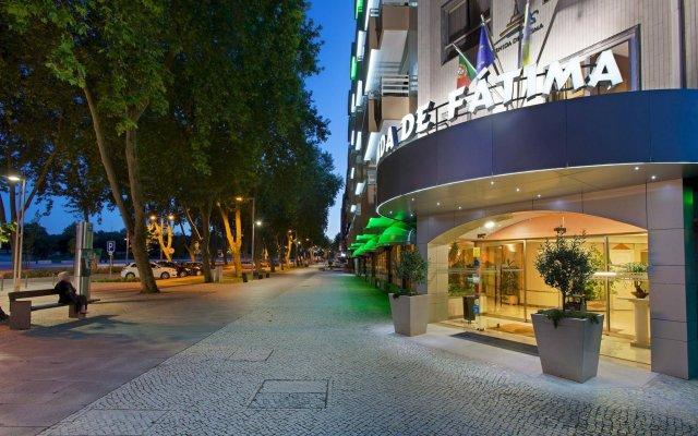 Отель Avenida de Fátima Португалия, Фатима - отзывы, цены и фото номеров - забронировать отель Avenida de Fátima онлайн вид на фасад