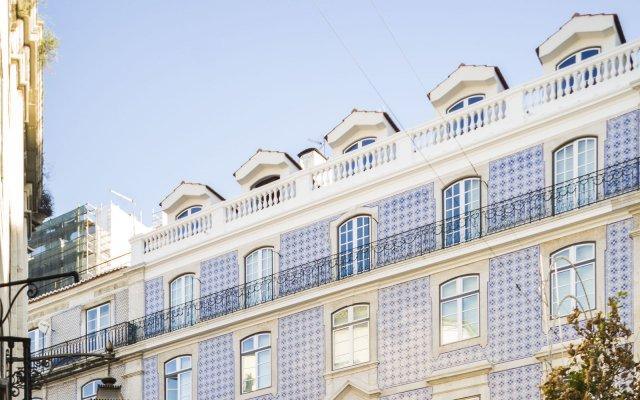 Апартаменты Lisbon Serviced Apartments Baixa Castelo вид на фасад