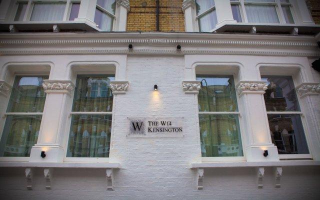 The W14 Hotel вид на фасад