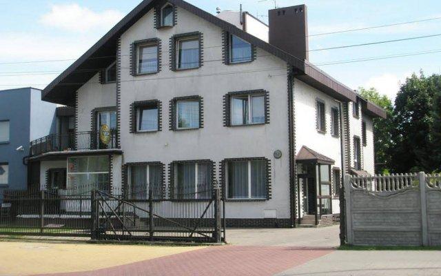 Отель Pensjon Polska вид на фасад