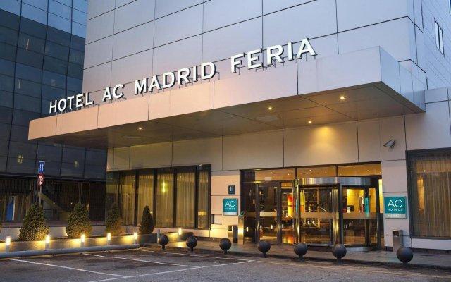 Отель AC Hotel Madrid Feria by Marriott Испания, Мадрид - 1 отзыв об отеле, цены и фото номеров - забронировать отель AC Hotel Madrid Feria by Marriott онлайн вид на фасад
