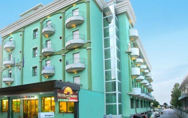 Hotel Delle Nazioni вид на фасад